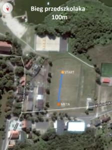 bieg przedszkolaka 100m
