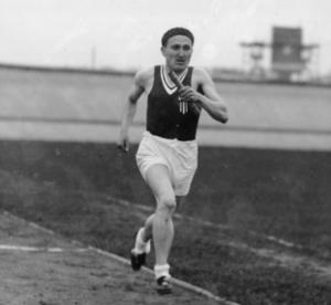 1. Janusz Kusociński, polski lekkoatleta,. Fot. NAC