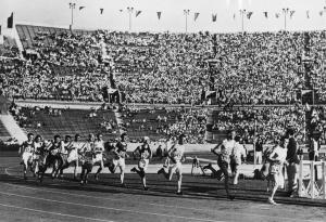 5. Bieg na 10 000 metrów podczas Igrzysk Olimpijskich w Los Angeles w 1932 roku.